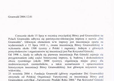 certyfikat_2004_grunwald_wojt